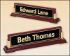 Click this Image to visit the Desk Name Plates and Bars category.