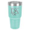 30 Oz Teal Coated Ringneck Tumbler with Lid 30 oz. Polar Camel Tumblers