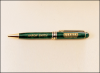 Green Marble Euro Pen   Pens, Cases, Sets and Letter Openers
